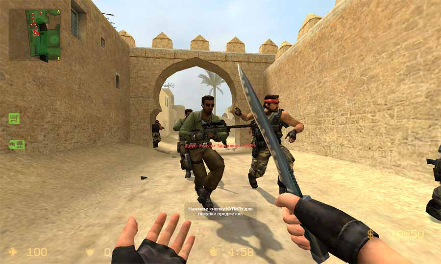 скачать counter strike source на андроид с ботами